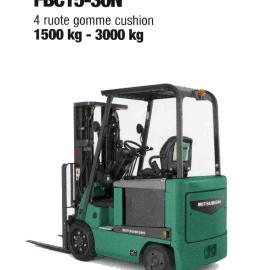 Frontale Elettrico FBC15-30N - 4 gomme cushion - 1500 kg / 3000 Kg