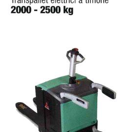 Transpallet Elettrico PBV20-25N - Transplallet elettrico a timone - 2000 Kg / 2500 Kg